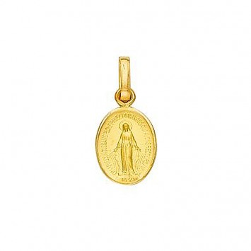 Médaille Vierge Miraculeuse 8 *16mm Or750