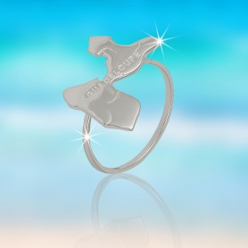 Bague Guadeloupe Taille 54 Argent925