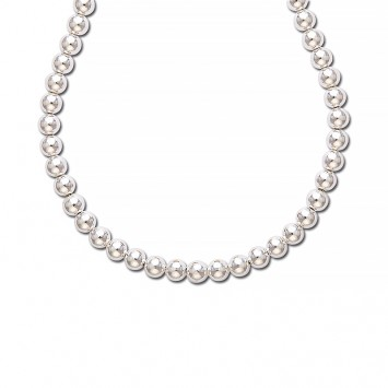 Collier  Grain D'argent 8mm Argent925 45cm