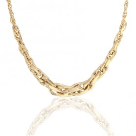 Collier Chute 45cm Or375