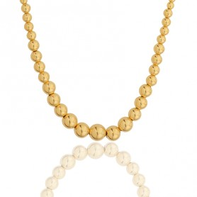 Collier Grain D'or 2.5 A 9mm Or750 45cm