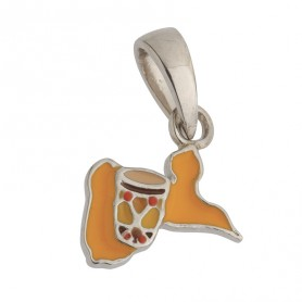 Pendentif Guadeloupe Ka Argent925 Email