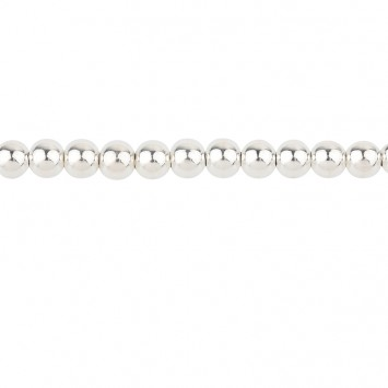 Collier Grain D'argent 6mm Argent925 45cm