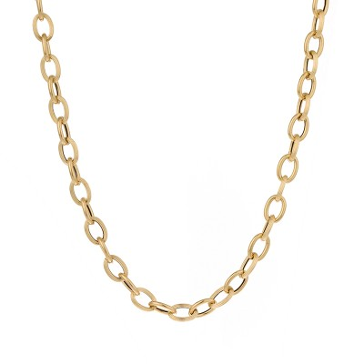 <p>Collier Or750 Maille Forçat Antillais 6mm 45cm</p>