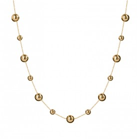 Collier Grain D'or Or750 42 A 45cm