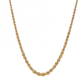 Collier Corde Or750 Chute 4.5mm 45cm