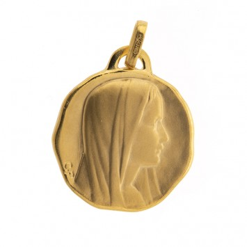 Médaille Vierge Or750 17*22mm