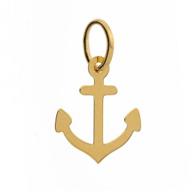 Pendentif Ancre Marine Or750