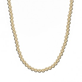 Collier Grain D'or Or750 6mm 45cm