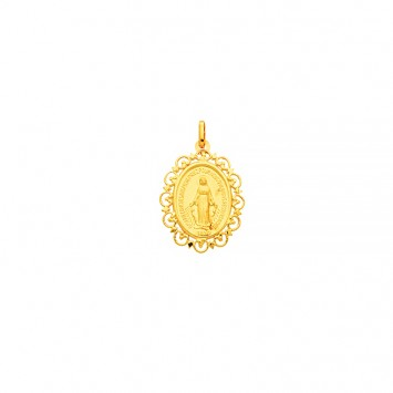 Médaille Vierge Miraculeuse 20*30mm Or375
