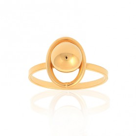 Bague Grain D'or Taille 54 Or375