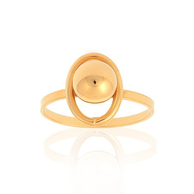 Bague Or375 Grain D'or Taille 54