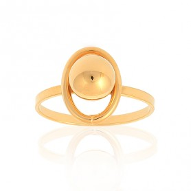 Bague Grain D'or Taille 56 Or375