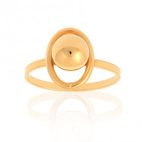 Bague Grain D'or Taille 58 Or375