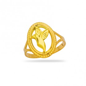 Bague Colibri Taille 58 12*15mm Or750