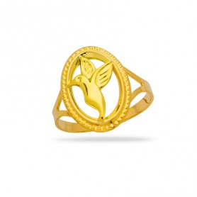 Bague Colibri Taille 60 12*15mm Or750