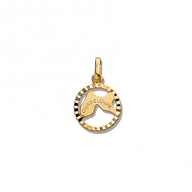 Pendentif Guadeloupe 14*19mm Or750