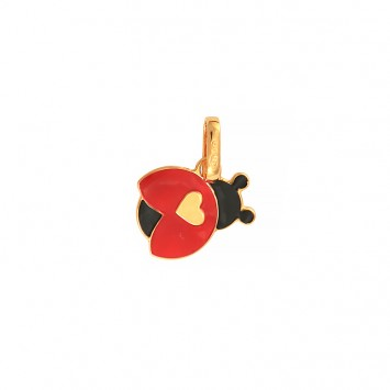 Pendentif Coccinelle Or375